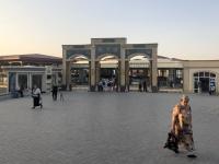 2019 09 28 Samarkand Moschee Bibi Khanum Eingangsportal