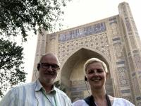 2019 09 28 Samarkand Moschee Bibi Khanum Hauptturm