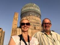 2019 09 28 Samarkand Moschee Bibi Khanum riesige Kuppel