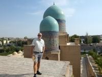 2019 09 28 Samarkand Nekropole Shaki Zinda Dachterrasse