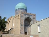 2019 09 28 Samarkand Nekropole Shaki Zinda aussen