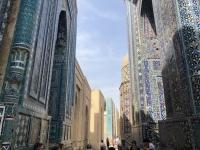 2019 09 28 Samarkand Nekropole Shaki Zinda einzelne Grabstätten