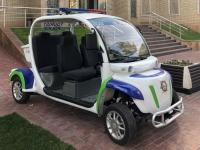 2019 09 28 Samarkand moderne Polizeiautos
