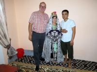 2019 09 29 Samarkand Haus der Frischvermählten  Brautpaar