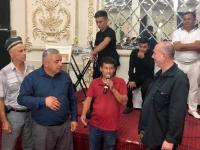 2019 09 29 Samarkand Hochzeitsfeier Ansprache von RL