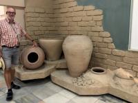 2019 09 29 Samarkand Museum Afrosiab alte Tonkrüge