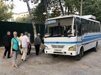 2019 09 29 Samarkand Privater Bus zum Abendessen beim RL