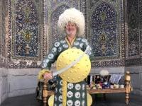 2019 09 29 Samarkand Registanplatz Tschingis Khan