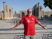 2019 09 29 Samarkand als Schnittpunkt der Weltkulturen Registanplatz