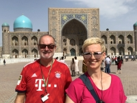 2019 09 29 Samarkand weltberühmter Registanplatz