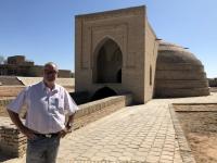 2019 09 30 Fahrt nach Buchara Wasserspeicher der Kawawansarei Rabat e Malik