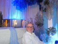 2019 10 03 Taschkent Abendessen im Fernsehturm kitschige Dekoration