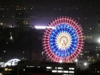 2019 10 03 Taschkent Abendessen im Fernsehturm tolle Aussicht