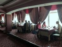 2019 10 03 Taschkent Hotel Usbekistan Mittagessen im 17 Stock