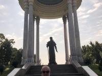 2019 10 03 Taschkent Nationalpark mit Denkmal Navoi Alisher