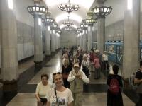 2019 10 03 Taschkent U_Bahn Station sehr schön dekoriert