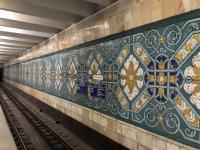 2019 10 03 Taschkent wunderschöne U_Bahn Station