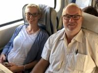 2019 10 04 Zugfahrt von Taschkent nach Kokand