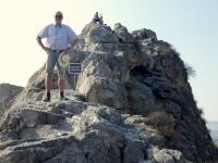 2019 10 05 Osch Heiliger Berg Sulamain_Too fast am Gipfel