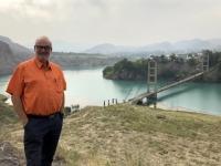 2019 10 06 Fahrt in die Berge Stausee mit Brücke