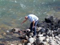 2019 10 07 Wasserentnahme Fluss Kokomeren