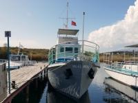 2019 10 08 Issyk Kul See Schifffahrt