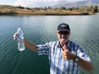 2019 10 08 Issyk Kul See Wasserentnahme