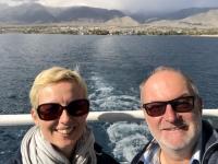 2019 10 08 Issyk Kul See tolle Schifffahrt