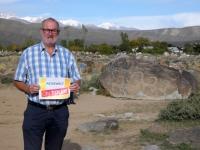 2019 10 08 Kirgisistan Felszeichnungen Cbolpon Ata Reisewelt on Tour