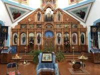 2019 10 09 Karakol russ orthodoxe Holzkirche innen