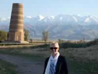 2019 10 10 Burana Turm Unesco mit herrlichem Hintergrund