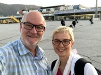 2019 10 11 Ankunft am Flughafen Salzburg