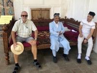 2019 09 28 Samarkand Nekropole Shaki Zinda Pause