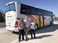 2019 09 30 Fahrt nach Buchara Busfahrer