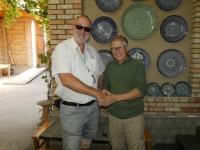 2019 10 04 Rischtan Töpferei Usmanov Chef persönlich