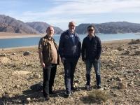 2019 10 08 Ortotokoi Talsperre mit RL Charles und RL Ulan