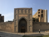 2019 09 28 Samarkand Moschee Bibi Khanum Eingang