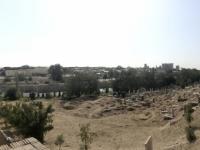 2019 09 28 Samarkand Nekropole Shaki Zinda mit Friedhof ausserhalb