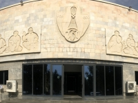 2019 09 29 Samarkand Museum Afrosiab Eingang