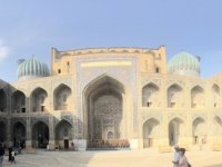 2019 09 29 Samarkand Registanplatz Innenhof