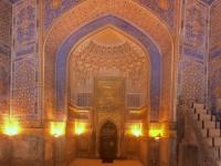 2019 09 29 Samarkand Registanplatz Moschee innen