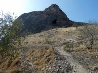 Kirgisistan Heiliger Berg Sulamain-Too Kopfbild