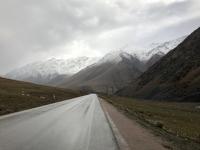 Kirgisistan Westliches Tian-Shan-Gebirge Kopfbild