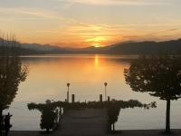 Sonnenuntergang vom Parkhotel aus