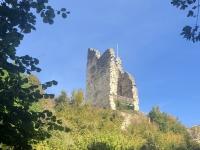 Spaziergang weiter zur Burgruine Leonstein