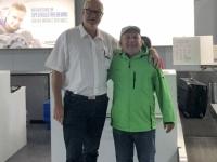2019 10 19 FCBayern Fan Werner vom Piusheim fliegt auch mit