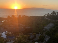 2019 10 19 Sonnenuntergang neben Nachbarinsel La Gomera