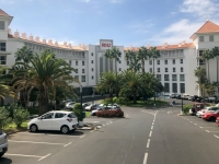 2019 10 19 Unser Hotel RIU Arecas von Norden