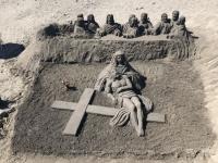 2019 10 20 Wanderung Richtung Playa de las Americas Sandkünstler