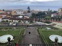 2019 10 21 Inselrundfahrt Ort La Oratava Viktoria Garten mit Mausoleum